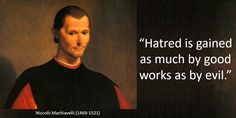 quote - Niccolo Machiavelli