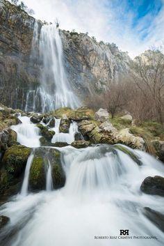 El nacimiento del Ason, Cantabria Puerto Rico, Digital Nomad, Nature Pictures, Water Features, Waterfalls, Rivers, Sustainability, Digital Marketing, Remote