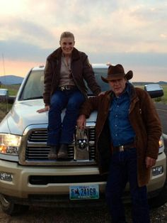 longmire.... There characters would be great together.