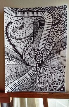 5 zentangle in 2019 зентангл, контурные рисунки, рисунки Zen Doodle Patterns, Doodle Art Designs, Zentangle Patterns, Art Patterns, Textures Patterns, Doodle Art Drawing, Zentangle Drawings, Mandala Drawing, Zantangle Art