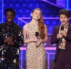 Caleb, Sadie & Gaten