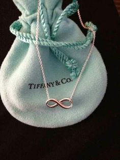The Infinity style necklace and bracelet... tiffany