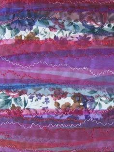 Removeable fabric book cover: vintage fabric and organzas with machine embroidery. Fabric Book Covers, Textile Artists, Mixed Media Art, Machine Embroidery, Art Pieces, Amethyst, Textiles, Crafty, Rock