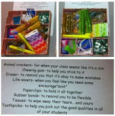 Teacher survival kit!