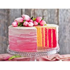 Forget plain, everday iced cakes. Our collection will make your special occasion even more special. From naked cakes to layer cake, lollipop meringue cakes and our vertical stripe cake, our selection is totally on trend and will delight your audience.