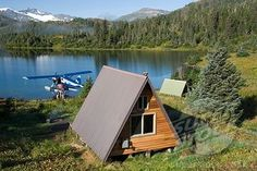 Remote Alaska Cabin | Where should a single guy vacation? - Art of Manliness
