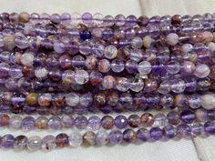Phantom Quartz, Jewelry Making Supplies, Round Beads, Coupon Codes, Gemstone Beads, Natural Stones, Beaded Bracelets, Shape, Gemstones