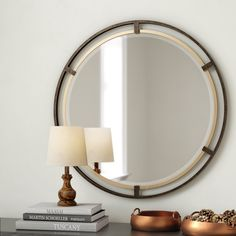 Shop a great selection of Pia Carrizo Modern & Contemporary Accent Mirror Gracie Oaks. Find new offer and Similar products for Pia Carrizo Modern & Contemporary Accent Mirror Gracie Oaks. Wall Mounted Mirror, Round Wall Mirror, Beveled Mirror, Round Mirrors, Entryway Mirror, Bathroom Mirrors, In China, Contemporary Wall Mirrors, Modern Contemporary