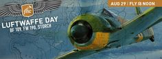 The Flying Heritage Collection holds some of the rarest and most iconic German aircraft of World War II. On Saturday, the famous Bf 109 Messerschmitt and ultra-rare Focke-Wulf Fw 190 will take to the skies once again! Also scheduled to fly is the super-slow-moving Fieseler Storch spotter plane!  Doors open at 10 am, planes fly at noon!