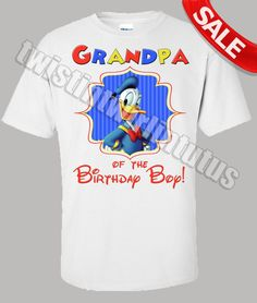 Mickey Mouse Clubhouse Grandpa Shirt | Mickey Mouse Clubhouse Family Birthday Shirt | Mickey Mouse Clubhouse Birthday Party | Minnie Mouse Birthday Party | Mickey Mouse Birthday Ideas | Mickey Mouse Clubhouse Birthday Party | Twistin Twirlin Tutus #mickeymouseclubhouesbirthday Family Birthday Shirts, Family Birthdays, Family Shirts, Mickey Mouse Clubhouse Birthday Party, Mickey Party, Baby 1st Birthday, Birthday Ideas, Mickey Mouse Shirts, Minnie Mouse