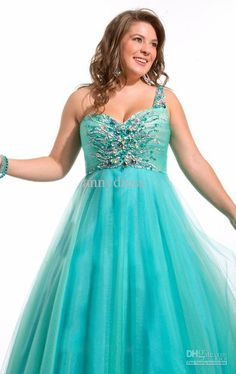 Beaded Mesh Fairy Prom Dress Formal Ball Gown | Junior Plus Size ...