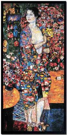 Klimt revisited - House of Contemporary Mosaic