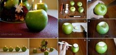 Apple Candle diy crafts craft ideas easy crafts diy ideas diy idea diy home easy diy diy candles for the home crafty decor home ideas diy decorations