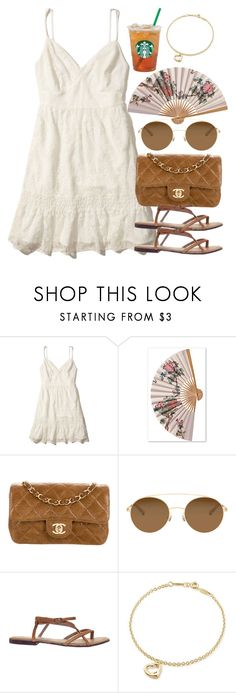"""Sin título #13033"" by vany-alvarado ❤ liked on Polyvore featuring Hollister Co., Chanel, Mykita, ASOS and Elsa Peretti"