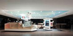 San Francisco Coffee Company, Hamburg. A project by Ippolito Fleitz Group – Identity Architects, Colours.