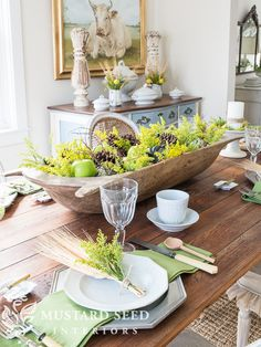 Wooden Bowl Decorating Ideas Christmas  Natural Arrangement Pinecones & Hellebores In Wooden