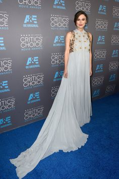 Actress Keira Knightley attends the 20th annual Critics' Choice Movie Awards at the Hollywood Palladium on January 15, 2015 in Los Angeles, California.
