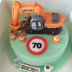 Digger cake ☕️