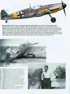 29 Best   luftwaffe ace Heinz Bar images | Airplanes, Ww2