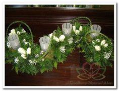Mooi kerst tafelstuk