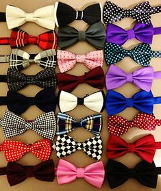 MEN'S Bowtie MEN Tuxedo BOW TIE Formal Party Wedding Classic CUT Suit Bestman | eBay