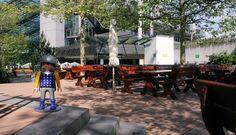 Playmobil Fun Park mit splitterfreien Terrassendielen - ideal für spielende Kinder