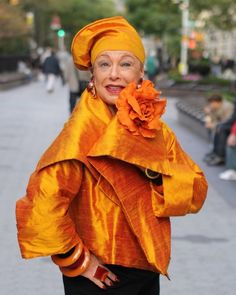18 Fabulous Style Tips From Senior Citizens  Provided I'm a RICH senior citizen, I'm going to rock these looks!
