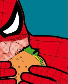 The Secret Life of Heroes - A Vida Secreta dos Heróis  #SpiderMan