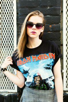 Iron Maiden Graphic Tee Shirt
