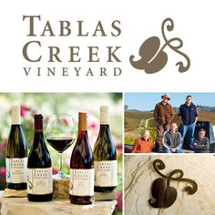 """Rhone! Mourvedre & Grenache Blanc... open 10 - 5 no reservations $10 waived w/ purchase... I especially want to taste the Esprit de Tablas Blanc (formerly Esprit de Beaucastel Blanc), based on Roussanne. Their Tablas Creek venture provided Calais winery with Roussanne vines from Beaucastel estate. Would love to taste side by side with CALAIS Winery """"Cuvée Principale"""""""