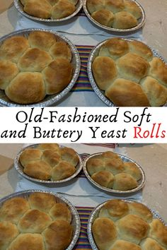 Old-Fashioned Soft and Buttery Yeast Rolls #Old #Fashioned #Soft #and #Buttery #Yeast #Rolls