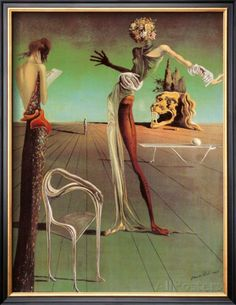 The Trinity Salvador Dali 1960 Poster Canvas Picture Art Print Premium A0-A4