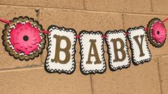 Kate spade baby banner baby shower its a by AandNBannerCreations