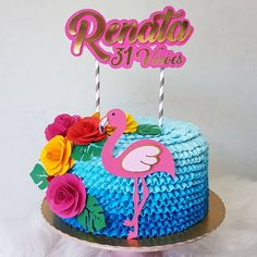 More decorating ideas on albums: Flamingo Party 1 Flamingo Party 3 Flamingo Party, Flamingo Cake, Flamingo Birthday, Luau Birthday, 16 Birthday Cake, 20th Birthday, Birthday Parties, Hawaian Party, Best Cake Ever