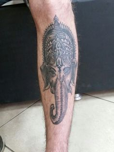 Ganesha que fiz a um tempo atrás
