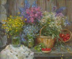Catherine Kalynovska.. Калиновская Екатерина. Полевые цветы