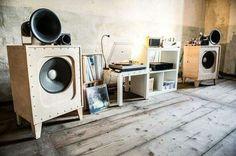 High end audio audiophile music listening room (fb)