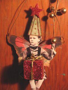 Altered art fairy