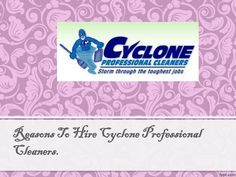 Cyclone Professional Cleaners is a full service cleaning company located in Plano, Texas. Contact us today for best organic carpet, tile, air duct and floor cleaning in the Plano and Dallas areas. To know more just log on to : http://www.cyclonepro.com/