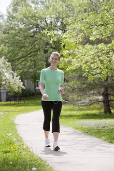8 Ways to Walk Your Way to a Fit Body -  When my mom started adding these techniques to her daily walk, she soon dropped 5 lbs, then 10 lbs. It really does make a difference how you walk.