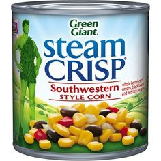 I'm learning all about Green Giant SteamCrisp Southwestern Style Corn at @Influenster!
