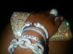 bling silver accessories