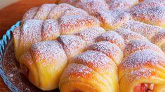 Zapomeňte na klasické koláče a buchty. Zkuste něco nového a lepšího. Ukážeme vám recept na jablečné rolky, které si zamilujete Food Decoration, Yams, Sweet Bread, French Toast, Rolls, Sweets, Cooking, Breakfast, Basket