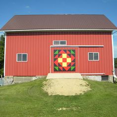 Comets Barn Quilt