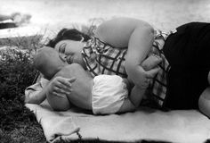 Motherhood 50 years ago- series of photos on HuffPo including this one.  Babywearing photos too!