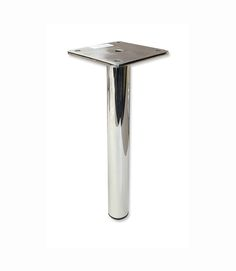 "Furniture Legs Los Angeles kinsley metal furniture legs are 4"" x 4"" x 1""h #304 stainless"