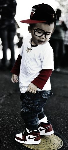 baby hipster I could totally see my friends son dressing like this! He has the perfect personality for it! :)