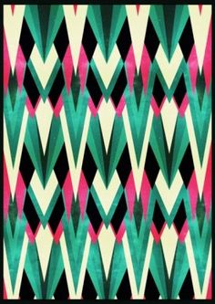 Art Deco #print #pattern