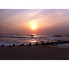 LBI sunrise , I love the pastel sky. Www.lbi-vacation.com