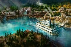 See How Disneyland's Rivers of America Will Look After Star Wars Land Construction